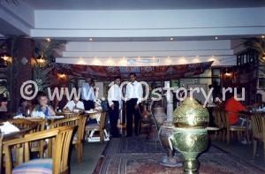 А это тот самый ресторан. Может, кто бывал и узнал отельчик?