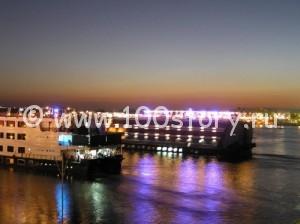 По  Нилу на корабле