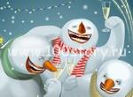 snegoviky funny От Christmas'a до Рождества   веселимся до упаду в снег