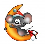 fanni mouse 156x160 Мужик и наглый мыш