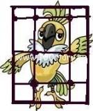 popugai free 134x160 Попугай на гриле