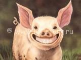 piggy 160x120 Свинтус на дороге