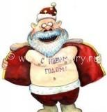 ded moroz 154x160 От Christmas'a до Рождества   веселимся до упаду в снег