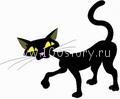 black cat От  Christmas'a до Рождества – зверский праздник