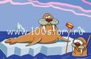 kupanie prorub Ледяной заплыв