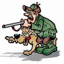 hunter dog Не мешайте шашлыку!