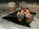 krechenie1 Ледяной заплыв