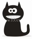 black cat1 132x160 Квартира с черным котом