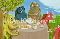 Monster Tea Party Чай с монстром
