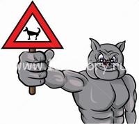 dos bad Собаки  против полицейских