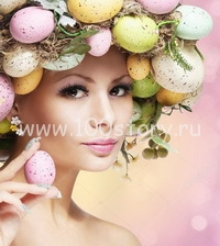 easter woman easter woman